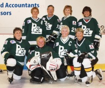55+ Women's Hockey Team 1