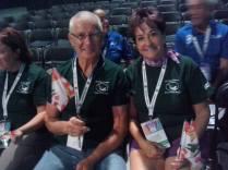 Participants E Arnold & brother